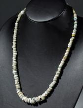 Wearable Iridescent Roman Glass Necklace