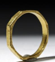 Ancient / Elegant Byzantine 18K Gold Ring