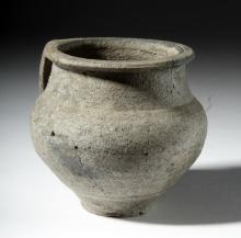 Roman Greyware Pottery Jug