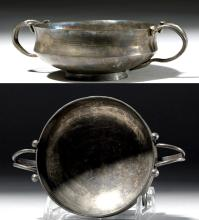 Hellenistic Greek Silver Kylix (for drinking wine)