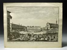 18th C. Italian Etching, S. M. Novella, Muller / Zocchi