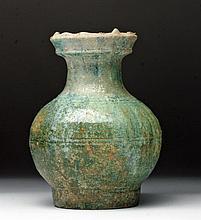 Chinese Han Dynasty Glazed Vase