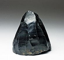 Early Mousterian Obsidian Core - 25,000 Years Old!