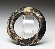 Early/Large Chinese Neolithic Stone Bracelet