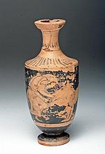Greek Attic Red-Figure Lekythos - Herakles