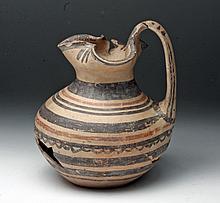 Daunian Pottery Oinochoe, Ex-Farwell