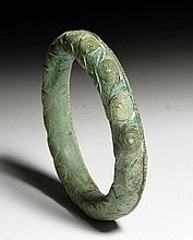 Ban Chiang Bronze Decorated Bracelet