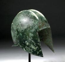 Ancient Greek Illyrian Bronze Helmet