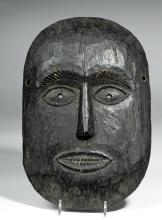 Early Nepalese Wooden Ritual Mask