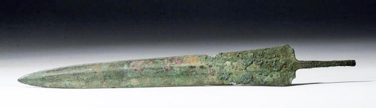 Long Luristan Bronze Dagger, ex-Piscopo