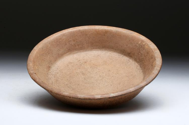 Mayan Brownware Plate