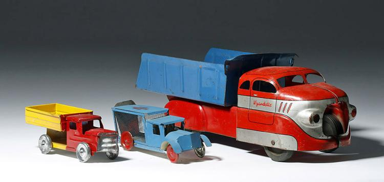 1950's Vintage Metal Trucks - Pressed Steel Wyandotte