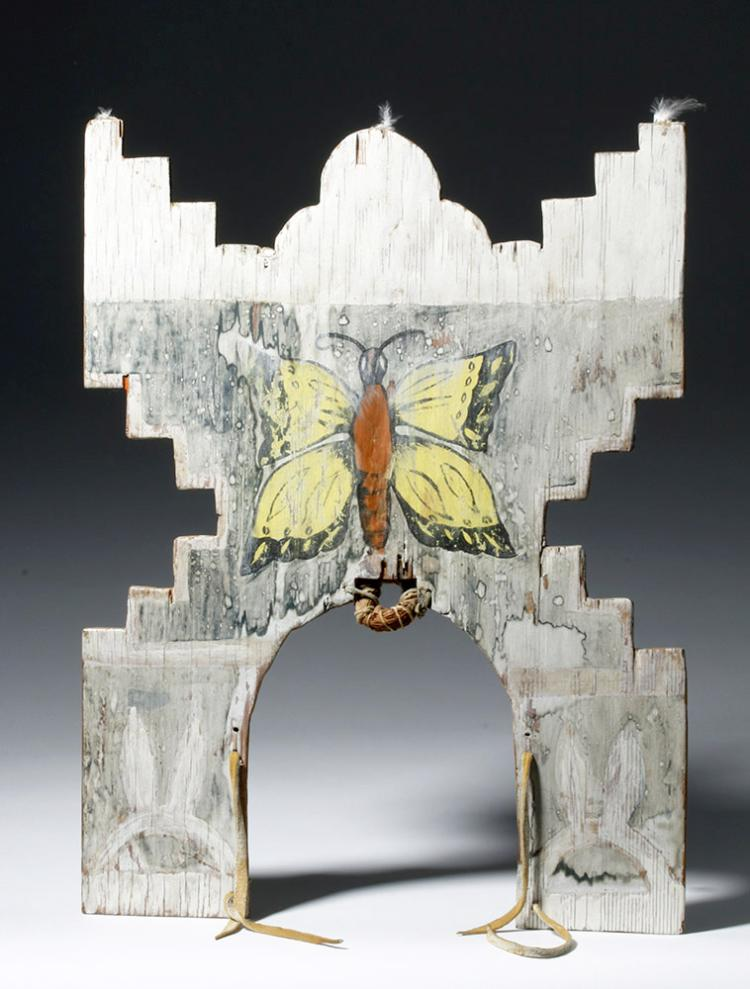 20th c. Hopi Tableta with Butterfly
