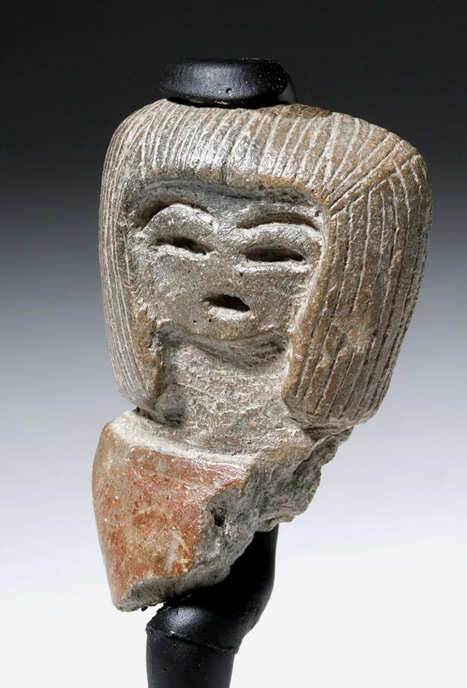 Fine Valdivian Pottery Venus Head