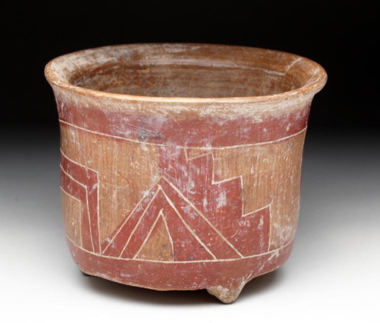 Pre-Columbian Chupicuaro Tripod Vessel