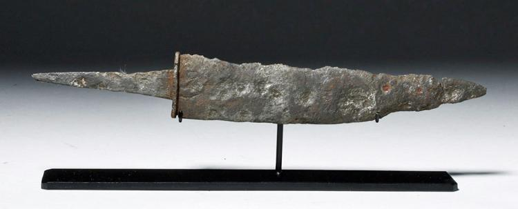 Saxon Iron Dagger, Migration Period, ex-Piscopo