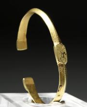 Ancient Byzantine 22K Gold Bracelet - Gorgeous!