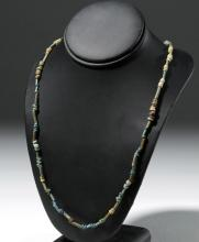 Custom Necklace w/ Ancient Egyptian Faience Beads