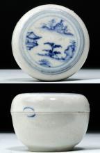 Annamese Pottery Jarlet w/ Scene - Hoi An Shipwreck