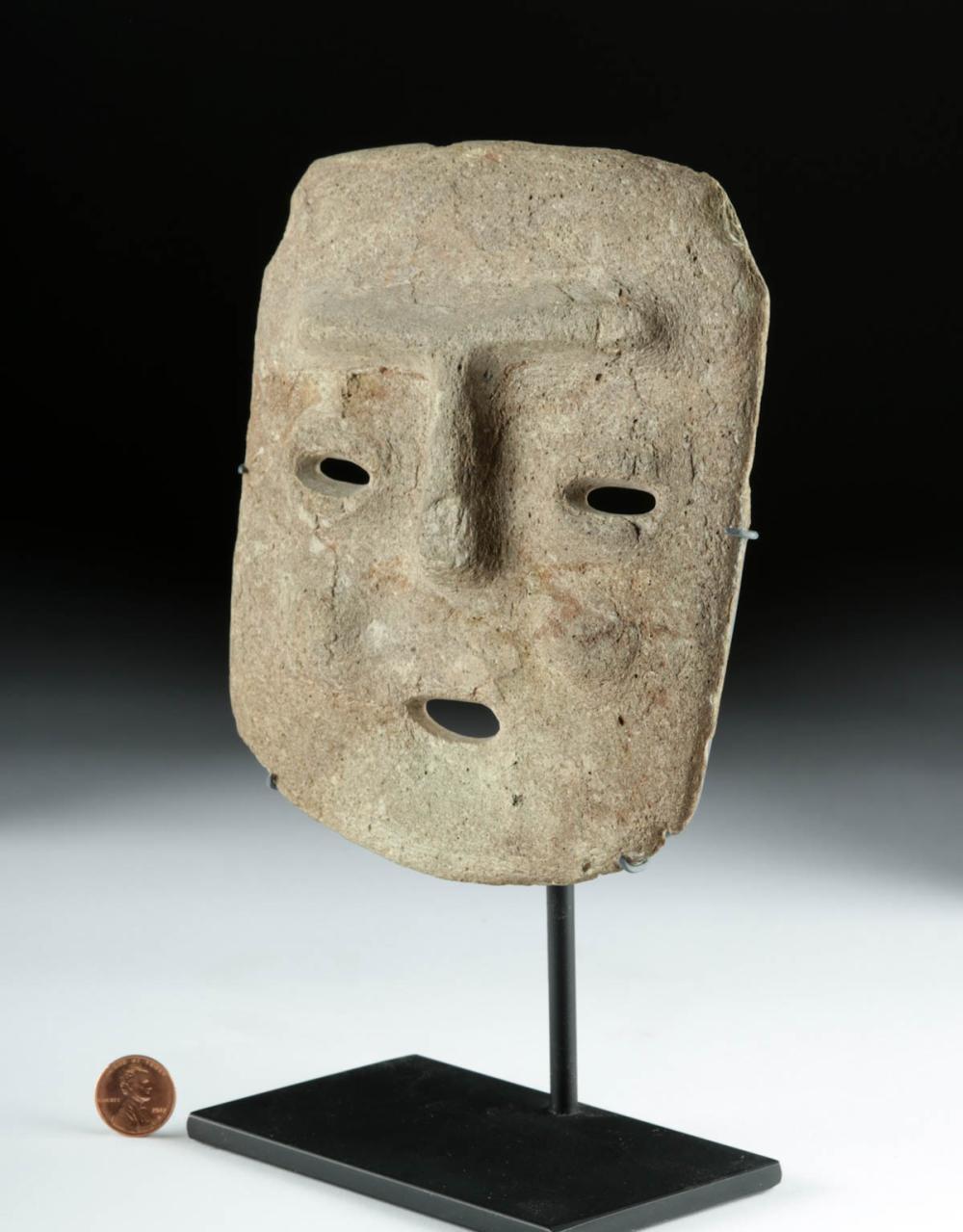 Guerrero Chontal Stone Face Mask