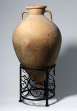 Intact Greek Hellenistic Terracotta Transport Amphora