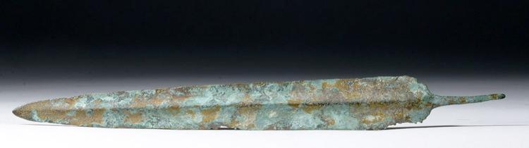 Luristan Bronze Tanged Sword, ex-Piscopo