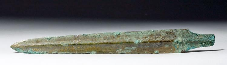Ancient Chinese Han Dynasty Bronze Dagger