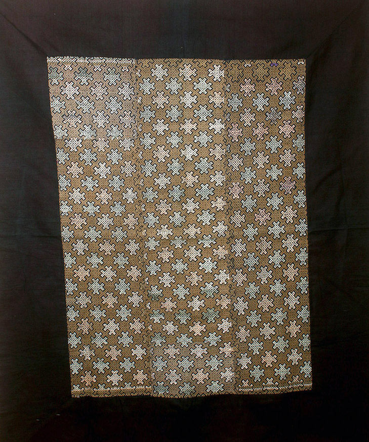 19th C Chinese Woven Wedding Blanket, ex-Historia