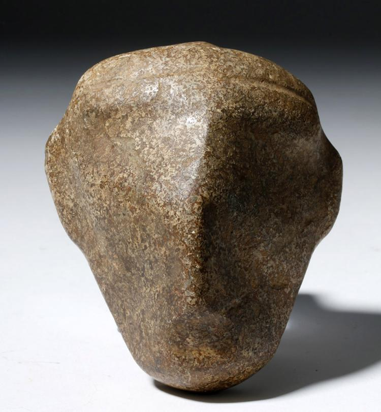 Mezcala Guerrero Brown Stone Head