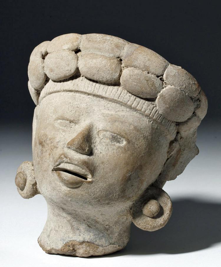 Large/Fine Veracruz Sonriente Head
