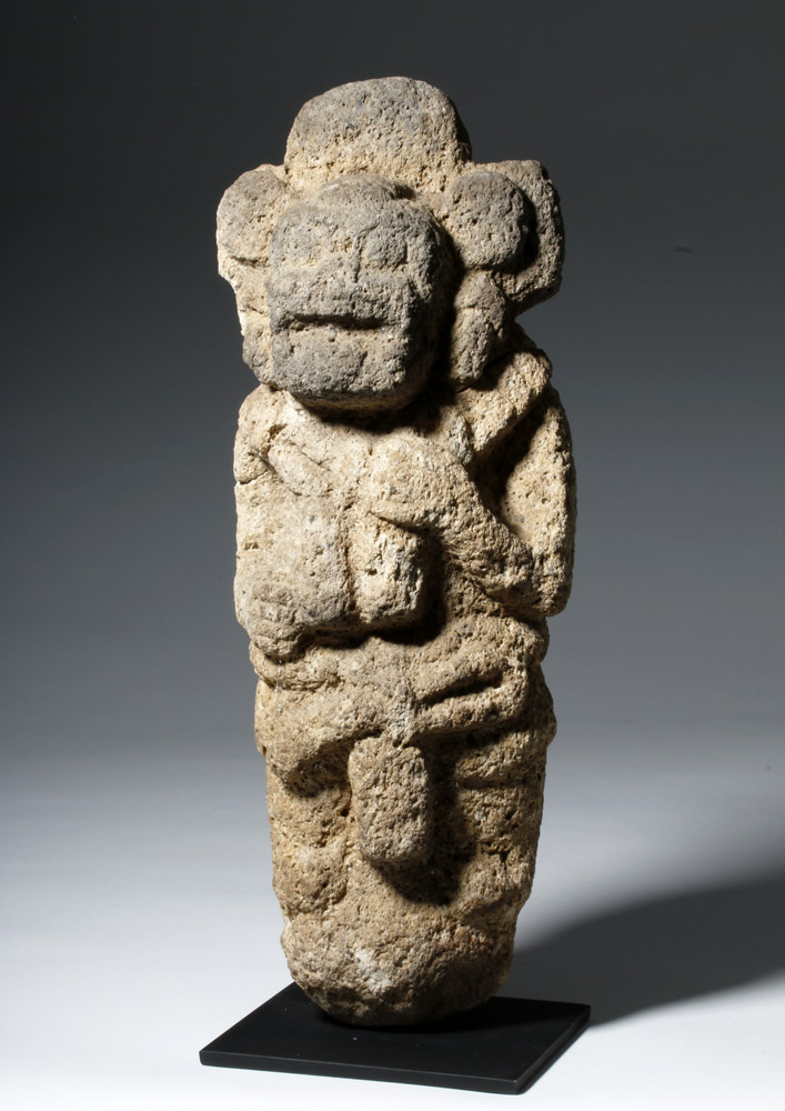 Aztec Stone Sculpture - Earth Goddess Coatlicue