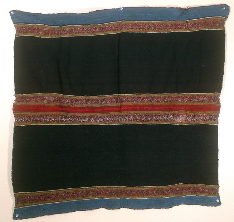 Brilliant 19th C. Bolivian Aymara Textile Panel