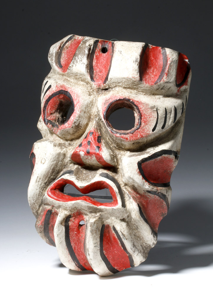 Mexican Day-of-the-Dead Carnival Mask, ex-Museum