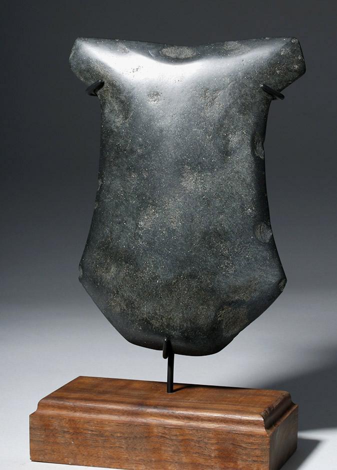 Huge Ecuadorian Greenstone Ritual Hacha - 3000 Y/O
