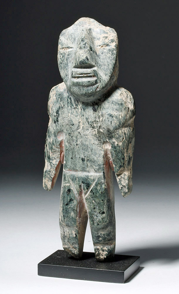 Olmecoid Stone Carved Figure