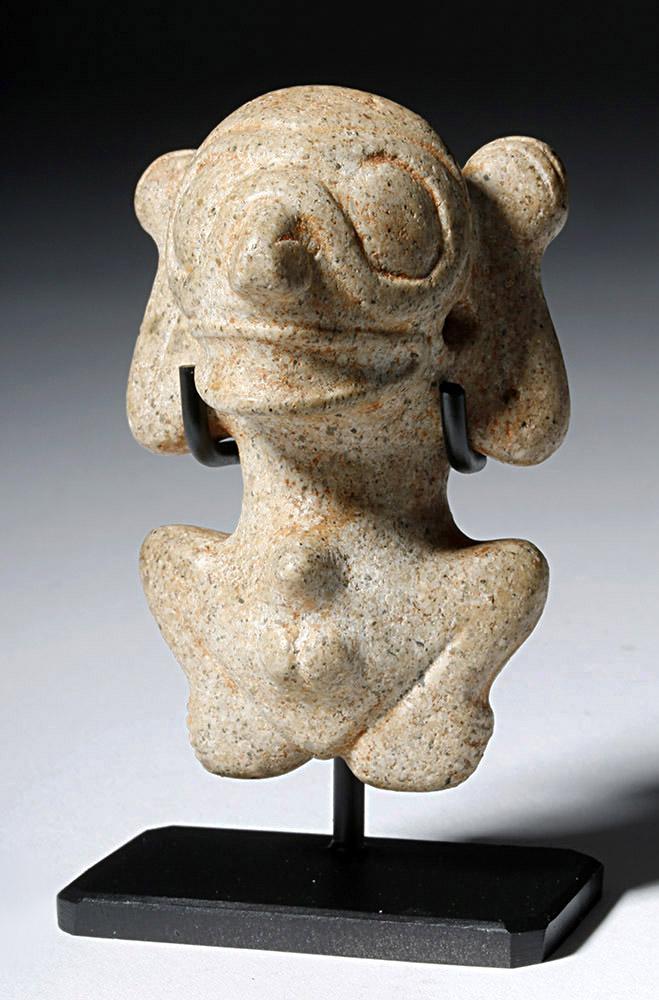 Taino Stone Amulet - Male Anatomy