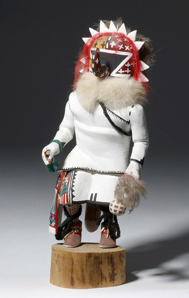 Signed Native American Hopi Ahola Katsina Doll