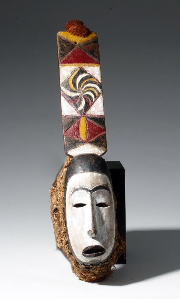 Nigeria Igbo Mba Mask with Organic Decoration