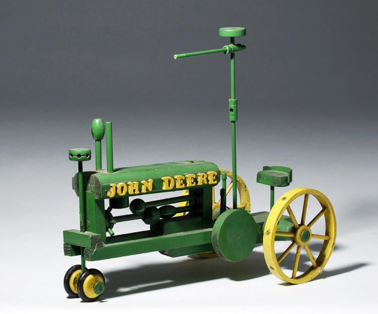 John Deere Wooden Toy