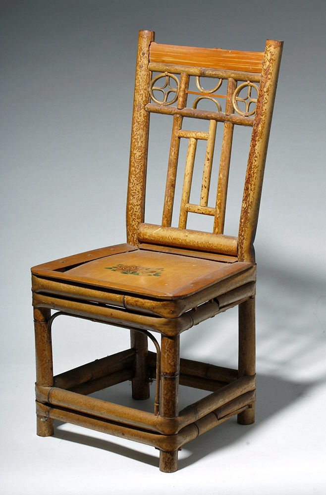 Mexican 20th c. Child's Bamboo Chair