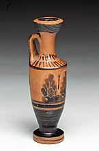 A Greek Black Figure Attic Lekythos