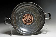 Large Greek South Italic Kylix, Floral Motif