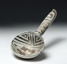 Anasazi Pottery Black-on-White Ladle, ex Museum