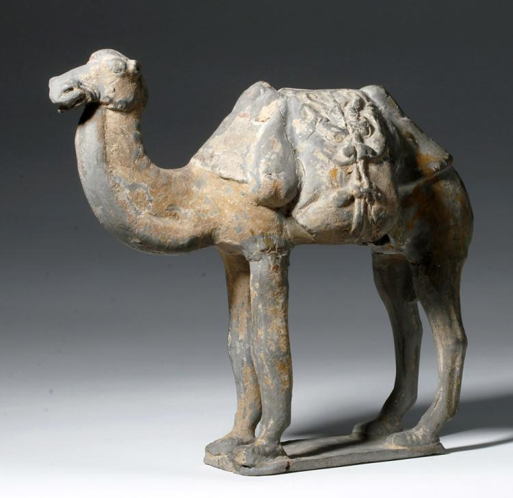Pottery; Chinese, Tang Dynasty, Figure, Horse, Black ...  |Tang Dynasty Artifacts