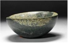 Rare Olmec/Xochipala Jadeite Bowl