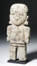 Valdivia Chorrera Stone Transitional Figure