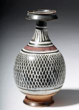 Attractive Greek Gnathian Net Pattern Bottle