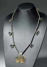 Ancient European / Danubian Bronze Necklace