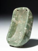 Rare Olmec Engraved Stone Drug Palette