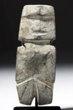 Guerrero Mezcala Stone Axe God
